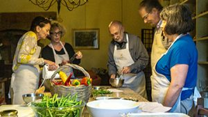 Kim Nashed Yoga, Umbrian Cooking Class